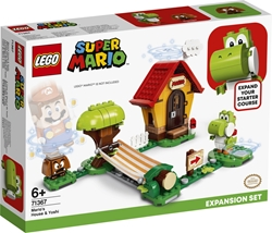 Picture of LEGO Super Mario - Mario's House and Yoshi (71367)