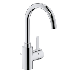 Picture of Grohe Eurosmart Cosmopolitan single-lever basin mixer, Zero, L-Size with waste set (32830001