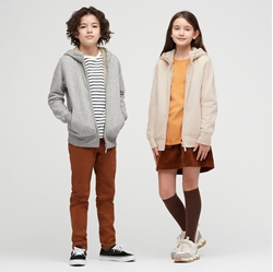 Picture of UNIQLO CHILDREN'S LINED SWEAT JACKET WITH HOOD