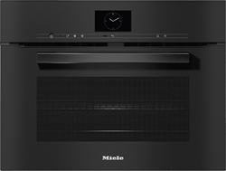 Picture of MIELE H 7640 BM Compact oven with a microwave obsidian black