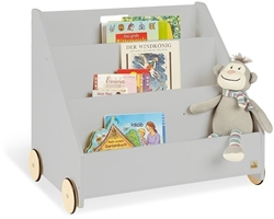 Picture of Pinolino children's bookcase with wheels, Gray