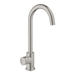 Picture of GROHE pillar tap / boiler GROHE Red Mono 30085 M-Size C-spout supersteel-30085DC1