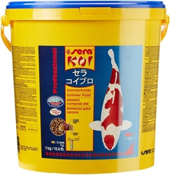 Picture of sera 07018 KOI Professional Summer Food 7 kg - For extra energy at temperatures above 17 ° C with a balanced protein / fat ratio