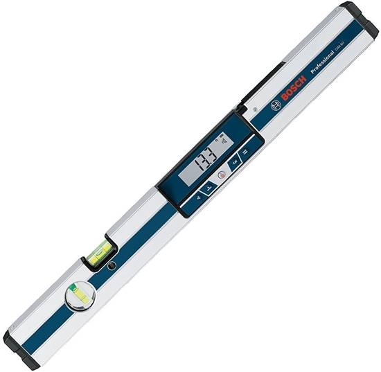 Picture of BOSCH GIM 120 Professional Digital Inclinometer Spirit Level, Length: 120 cm, Measuring Range: 0 - 360 °, Protective Case, 060, 0601076700