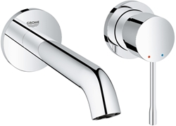 Picture of GROHE Essence | Bath fitting - 2-hole basin mixer | 230 mm | 19967001
