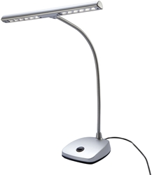 Picture of König & Meyer 12297 LED piano light - silver
