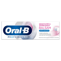 Picture of Oral-B Toothpaste sensitivity & gum balm gentle cleaning, 75 ml