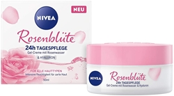 Picture of NIVEA Day cream rose blossom, 24h day care with rose water & hyaluron, 50 m