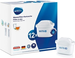 Picture of BRITA filter cartridges MAXTRA + in a pack of 12 - cartridges for all BRITA water filters