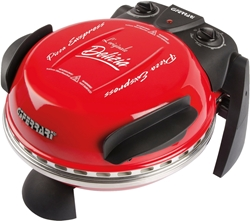 Picture of G3 Ferrari G10006 Delizia Pizza Oven - 1200W in Red