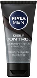 Picture of Nivea Men Deep Control Anti-Blackhead Peeling and Wash Gel in 1 Pack (1 x 75 ml)