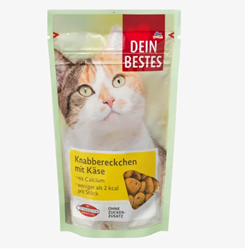 Picture of Snack for cats, nibbles with cheese, 65 g