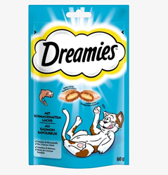 Picture of Snack for cats, adult, with salmon, 60 g