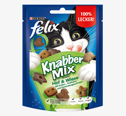 Picture of Snack for cats, KnabberMix Hof & Wiese, 40 g