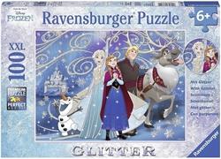 Picture of Ravensburger Frozen - Glistening Snow +6 100pc