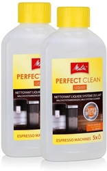 Picture of 2x Melitta Espresso Machines 202034 Perfect Clean Milk System Cleaner 250ml