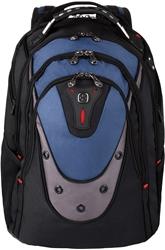 Picture of 'Wenger/SwissGear 600638 17-Inch Laptop Bag Backpack Black/Blue