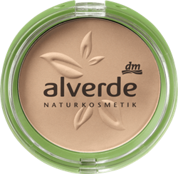 Picture of alverde NATURAL COSMETICS Compact make-up 015 soft beige, 9 g