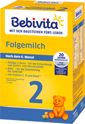 Picture of Bebivita Follow-on milk 2 after the 6th month, 500 g