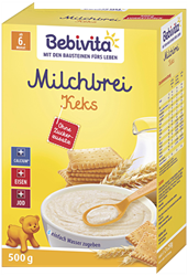 Picture of Bebivita Milk porridge biscuit from the 6th month, 500 g