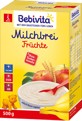 Picture of Bebivita Milk porridge fruits after the 4th month, 500 g