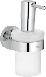 Picture of Grohe Essentials | BADACCESSOIRES - Soap dispenser | with holder | 40448001