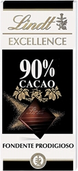 Picture of Lindt Excellence 90% Cacao mild dark chocolate, 100 g