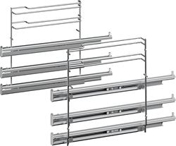 Picture of Siemens  3-way telescopic pull-out HZ638300, oven pull-out