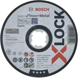 Picture of Bosch X-Lock cutting disc Expert for Inox + Metal AS 60 T INOX BF Ø 125 mm