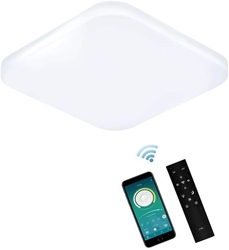 Picture of ERWEY LED Ceiling Light Dimmable with Remote Control ,  [Energy Class A++]