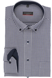 Picture of ETERNA MODERN FIT SHIRT DARK BLUE/WHITE, GINGHAM, SIZE L