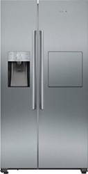 Picture of Siemens KA93GAIEP iQ500 Side-by-side Refrigerator Freezer Combination (stainless steel)