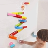 Picture of Nuheby Bath Toy Construction Puzzle Car Racing Track 38 Pieces Toy Bathing Fun Water Toy For Children 3 4 5 Years Boy Girl