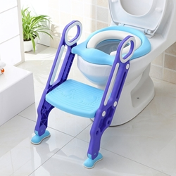 Picture of Bamny Potty Trainer Children's Potty Toilet Trainer blue