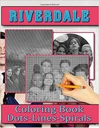 תמונה של ריוורדייל נקודות קווים ספירלות צביעה: ספרי פעילות של חידות צבעוניות למבוגרים דפי פעילות מרגיעים Riverdale