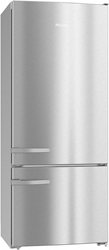 Picture of Miele KFN 15842 D edt / cs fridge-freezer combination stainless steel / cleansteel