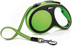 Picture of flexi New Comfort Belt Retractable Lead, Size: L 5 m, Color : Green