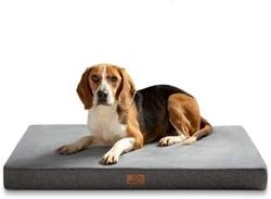 Picture of Bedsure Orthopedic Large Dog Cushion with Memory Foam Ergonomic Design, Washable Non-Slip Dog Bed, Size: 104x74x10cm XL