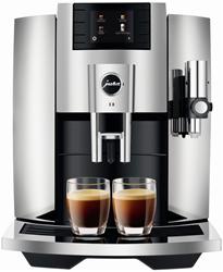 Picture of JURA E8 fully automatic coffee machine, chrome (EB)
