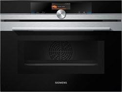 Picture of Siemens CM676G0S1 compact oven with microwave stainless steel