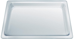 Picture of Siemens  glass pan HZ636000, baking tray (transparent)