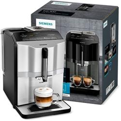 Picture of Siemens EQ.300 Fully Automatic Coffee Machine, Compact Size, Easy Operation, 1,300 Watt, Black, TI353501DE