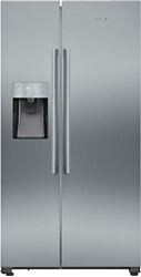 Picture of Siemens iQ500 KA93IVIFP American Side-by-Side - No Frost - Multi Airflow System - 527 liters, stainless steel