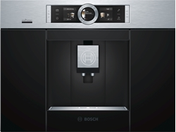 Picture of Bosch CTL636ES6 built-in fully automatic espresso machine 2.4l black, stainless steel coffee maker