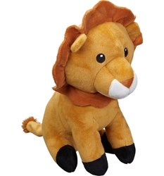 Picture of Dog toy, lion in a Sitting position