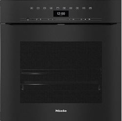 Picture of Miele Built-in oven H 7464 BPX Black, Handleless oven in a perfectly combinable design with food thermometer and LED lighting.