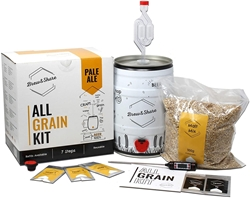 Picture of Brew & Share | Pale Ale Craft Beer Kit | Your beer in 2 weeks | Painted with Malts. Fermentation in the barrel.