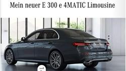 תמונה של Mercedes Benz E300e ,4matic limousine.WIK2130541A917227 . ca. 4615 km