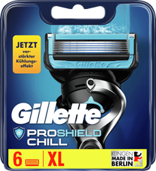Picture of Gillette Fusion ProShield Chill replacement blades, 6 pcs
