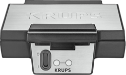 תמונה של  מכונת וופלים FDK251 נירוסטה שחורה Krups